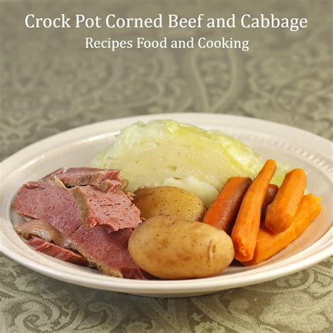 crockpot cooking time for corned beef