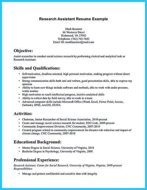 Resume For No Experience by Writing Your Assistant Resume Carefully