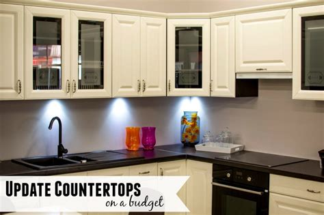 5 ways to update countertops on a budget moneywise
