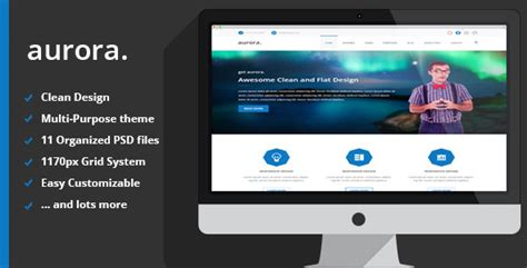 drupal theme aurora aurora multipurpose psd theme by dram23 themeforest