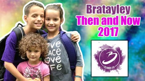 from bratayley now bratayley then and now 2017 hayley caleb