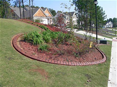Landscape Edging Huntsville Al Concrete Curbing Residential Installations Alabama