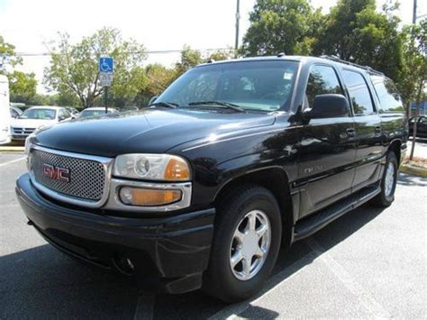 how to sell used cars 2003 gmc yukon windshield wipe control sell used 2003 gmc yukon denali suv leahter loaded cold a c clean truck tv tow package in