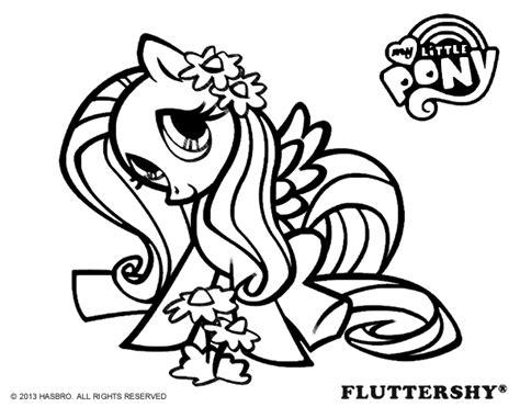 princess fluttershy coloring pages dibujo de fluttershy para colorear dibujos de my little
