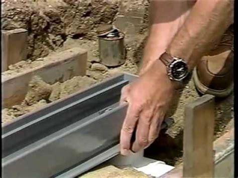 diy backyard drainage solutions how to install a channel drain for the diy project yard