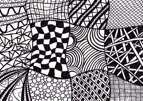 Drawing Zentangle by 7 Best Images Of Printable Black And White Drawings Ink