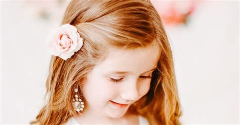 party hairstyles for 10 year olds elegant ways to use real flowers as hair accessories