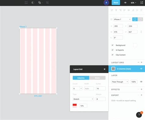 layout grid figma create a responsive dashboard with figma creative bloq