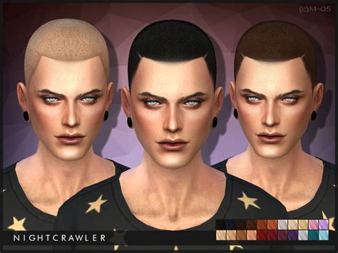 sims 4 male hairstyles nightcrawler sims nightcrawler c am hair05