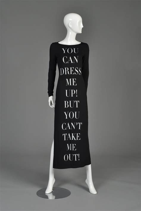 moschino quot dress me up quot 1990s bodycon maxi dress bustown