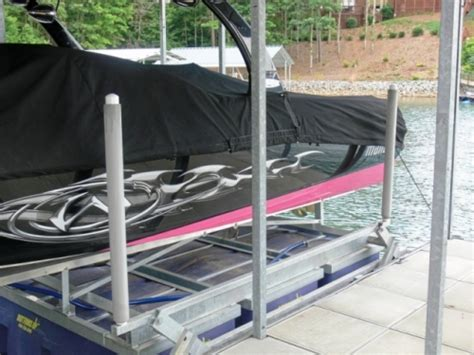 foam boat lift bumpers beyond the wake photo gallery