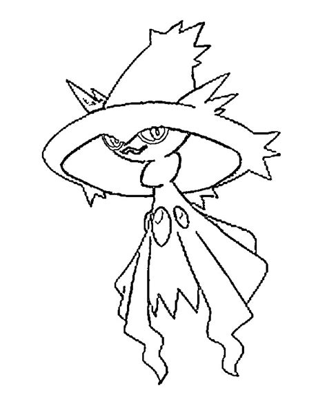 drawing page coloring pages mismagius drawings