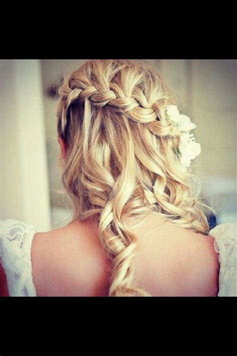 curly hairstyles with braids on the side curly side braid wedding hair i can hear the bells