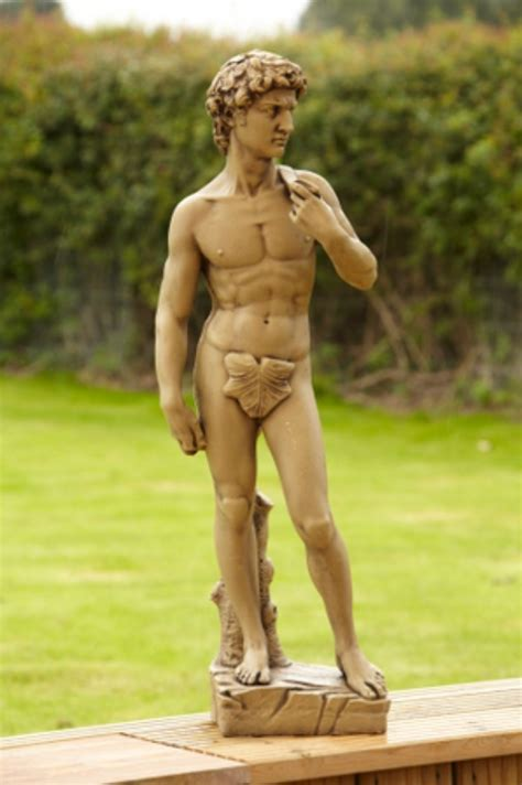 small david superb high definition cast stone statue garden sculptures ornaments
