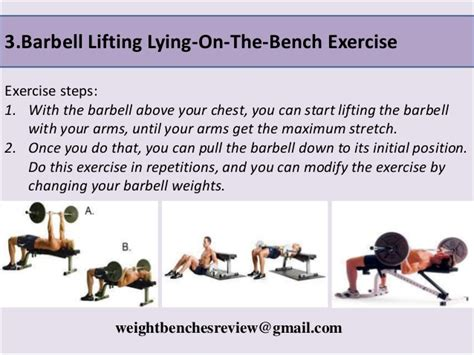 exercises to do on a weight bench five exercise you can do with weight bench