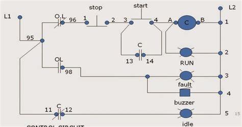 wye delta magnetic starter wiring diagram grounded wye