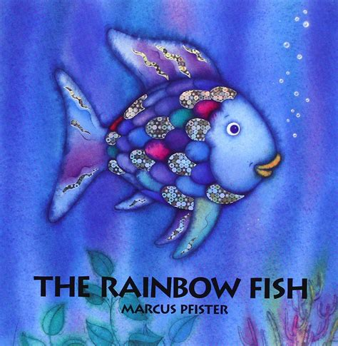 fish picture book rainbow fish printable story