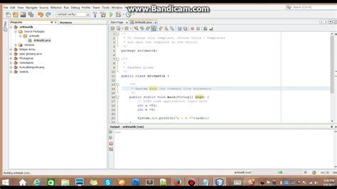 Tutorial Membuat Aritmatika Dengan Java Netbeans Youtube | tutorial membuat aritmatika dengan java netbeans youtube