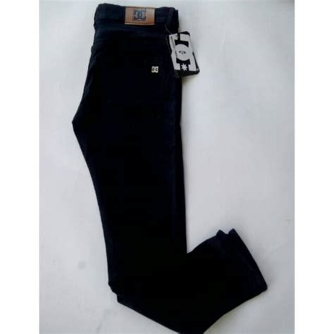 Celana Hitam 27 32 celana panjang denim kualitas distro warna hitam