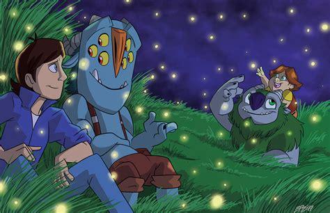 trollhunters fireflies  bayepaye  deviantart