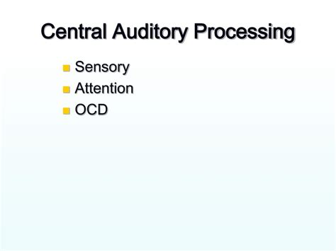 test of auditory processing skills 3 sle report ppt occupational therapy strategies for tourette