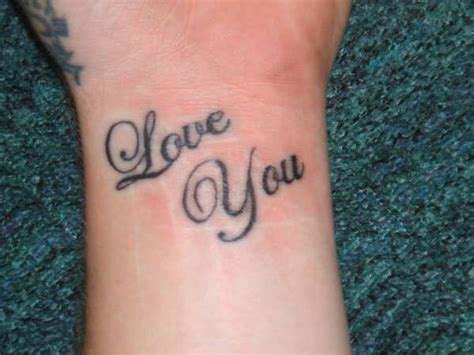 i love you tattoo tattoo collections