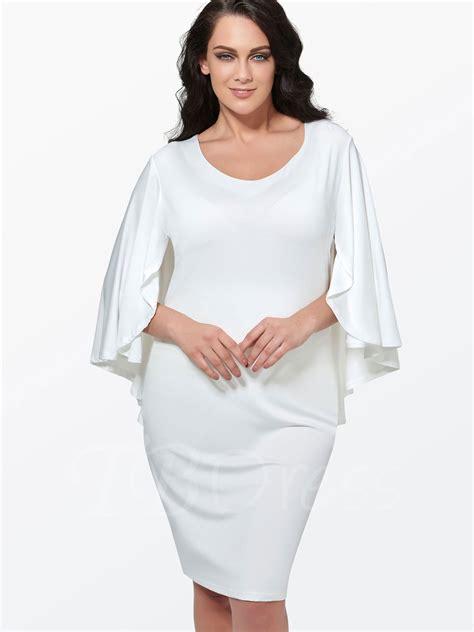 White Dress Size S white plus size dress oasis fashion