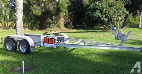 are aluminum boat trailers good 19ft aluminum float on boat trailer for sale in fort