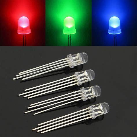 Led 5 Mm Rgb 4 Pin By Aneka Led 50 pcs led rgb common cathode 4 pin f5 5mm bright