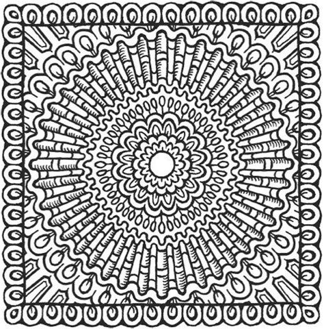 libro square mandalas creative haven 489 best images about coloring pages on