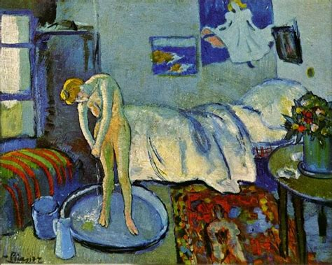 the blue room picasso becoming picasso 1901 courtauld gallery visual arts reviews news interviews the