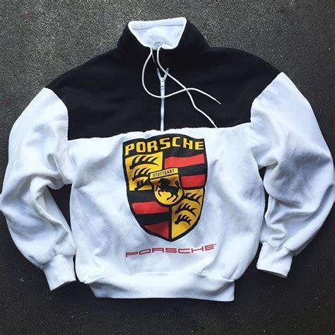 Porsche Pullover by Vintage Porsche Quarter Zip Sweater Cool Gear Bro