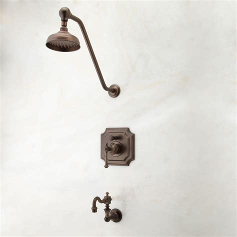 bathtub shower faucet sets vintage pressure balance tub and shower faucet set with lever handle bathroom