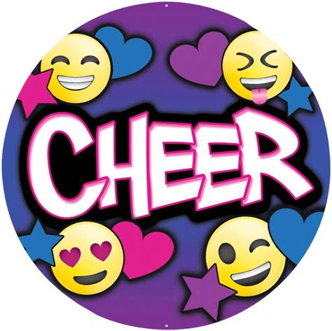 Cheer Stickers