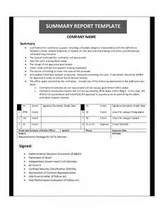 Template For Summary Report best photos of summary report template office summary