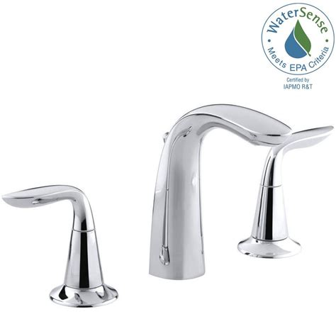 Isave Water Saving Faucets by Kohler Refinia 8 In Widespread 2 Handle Water Saving