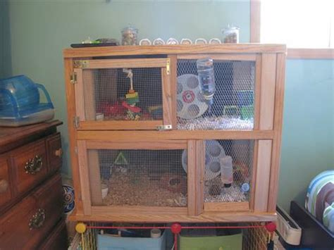 Habitat Bookcase Diy Wooden Hamster Cage Ideas Diy Craft Projects