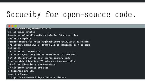 sourceclear s free tool quot open quot finds vulnerabilities in