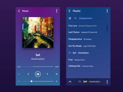 iplayer mobile player mobile ui and ui design