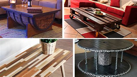 20 unique coffee tables for your living room 16 superb handmade coffee table and side table designs for