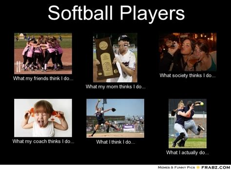 Funny Softball Memes - funny quotes about softball players quotesgram