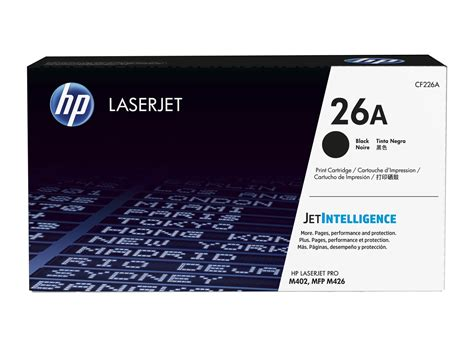 Toner Hp Laserjet Cf226a Black Original hp 26a black original laserjet toner cartridge hp store uk