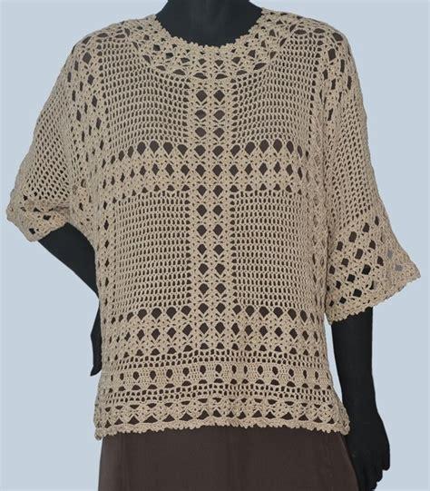 pattern crochet tunic crochet tunic pattern elbow sleeves crochet top pattern