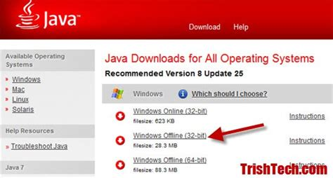 download java full version 64 bit java 7 jre offline