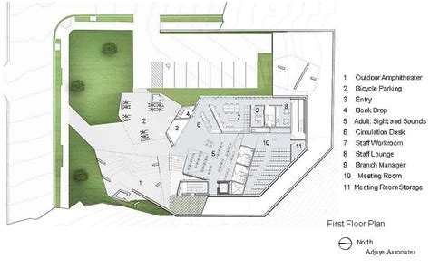 Floor Plans For My Home washington highlands neighborhood library project images
