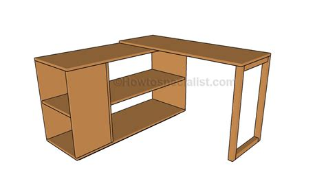 Corner Desk Plans Howtospecialist How To Build Step Corner Desk Blueprints