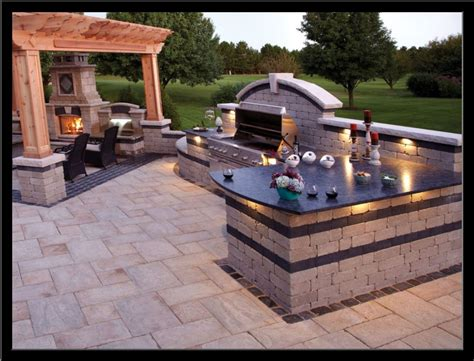 Patio Ideas Grill Design Ideas For Backyard Bbq Patios