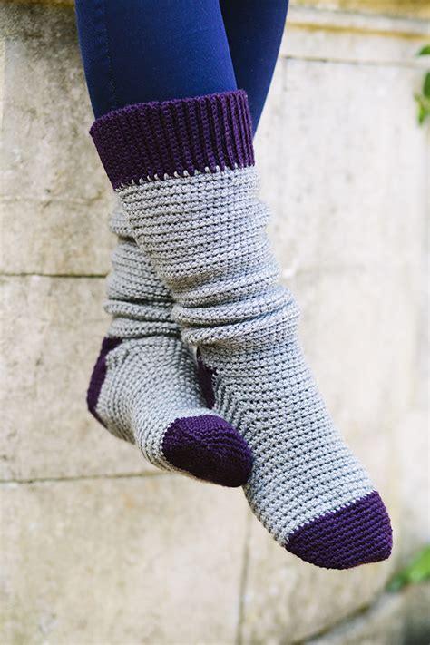 crochet socks pattern uk welly socks by vicki brown inside crochet magazine