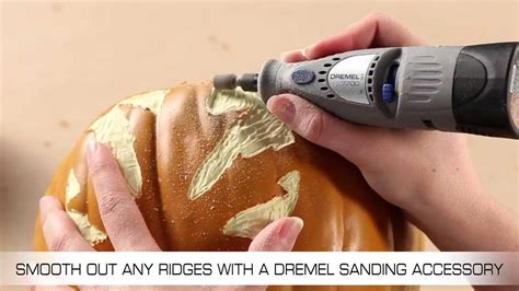carving pumpkins   dremel cordless rotary tool youtube