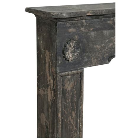 cornice camino legno cornice camino in legno finitura anticata 114x20x102 cm